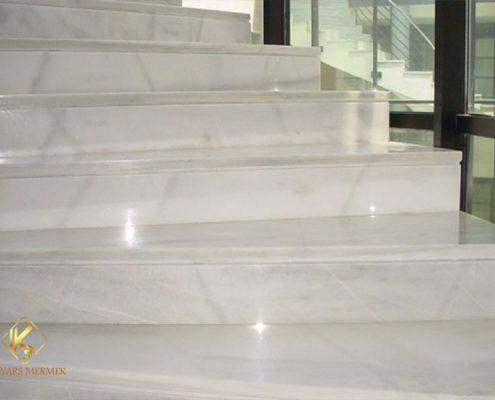 beyaz mermer basamak göztepe