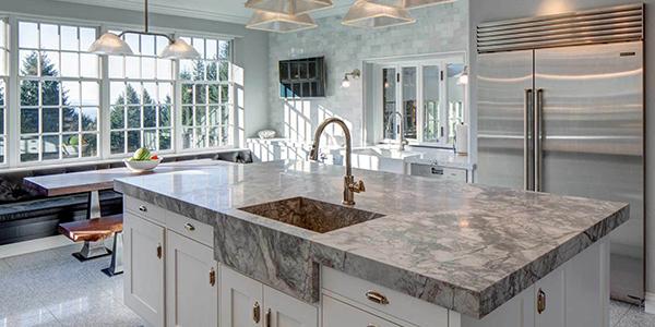 doğal taş granit mutfak tezgah modeli bostancı